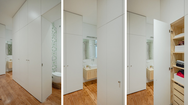 FMO ARCHITECTURE Minimalist style dressing rooms White