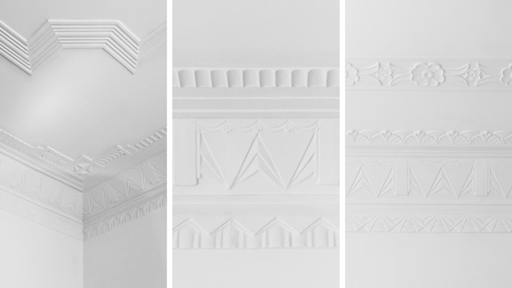 FMO ARCHITECTURE Colonial walls & floors White
