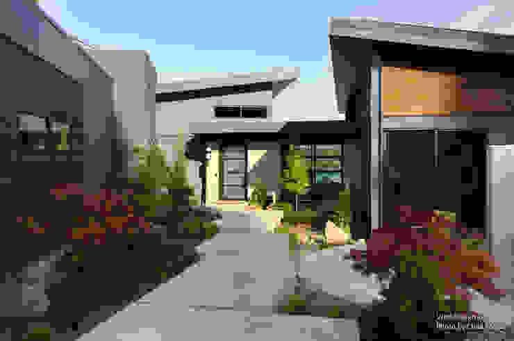 Chibi Moku Architectural Films Modern houses Concrete Brown