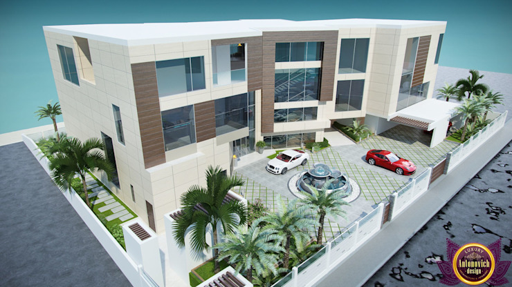 Modern Houses by Luxury Antonovich Design Modern