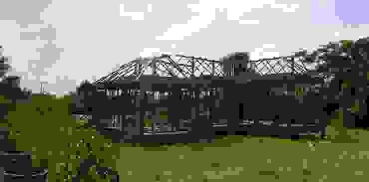 ติดตั้งโครงหลังคาเหล็ก โดย สำนักงานสถาปนิกอนุชา