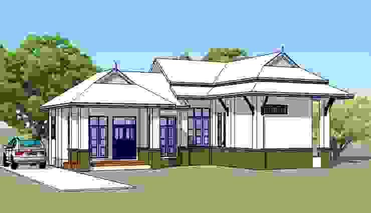 บ้านพักอาศัยชั้นเดียว จ.เชียงใหม่ โดย สำนักงานสถาปนิกอนุชา