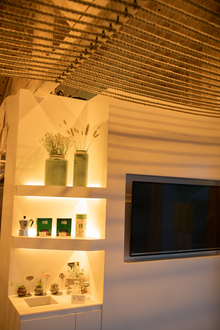 Modern Living Room by 위상공간 Modern
