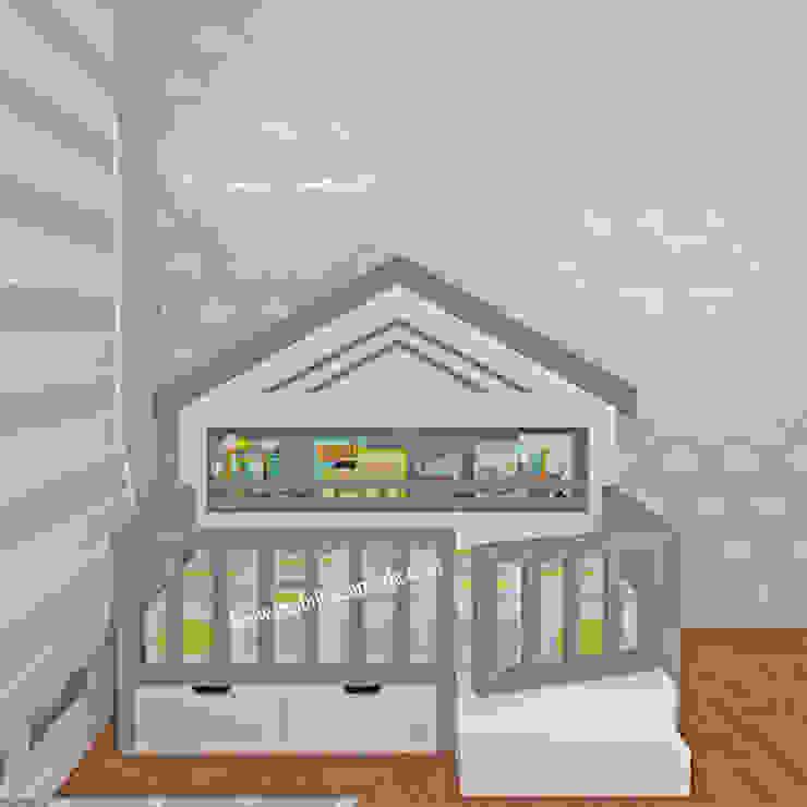 Montessori Bebek Odası, Atlas'ın Odası Modern Çocuk Odası MOBİLYADA MODA Modern Ahşap Ahşap rengi