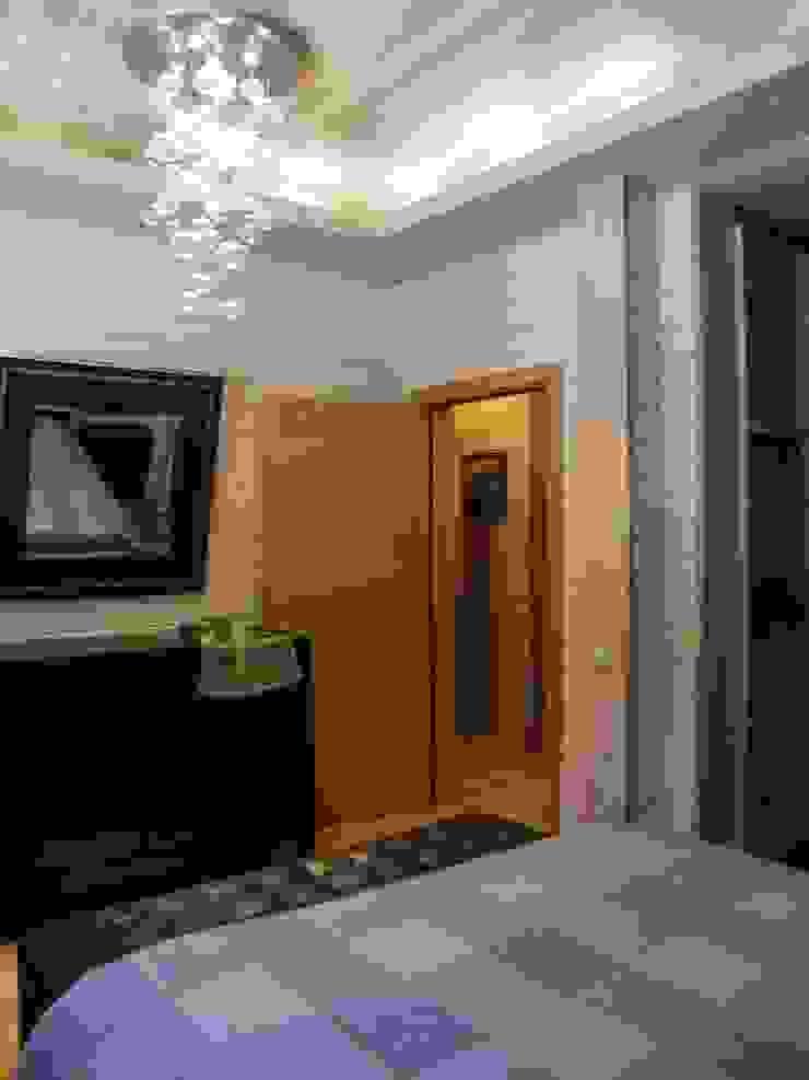 Minimalist bedroom by архитектурная мастерская МАРТ Minimalist
