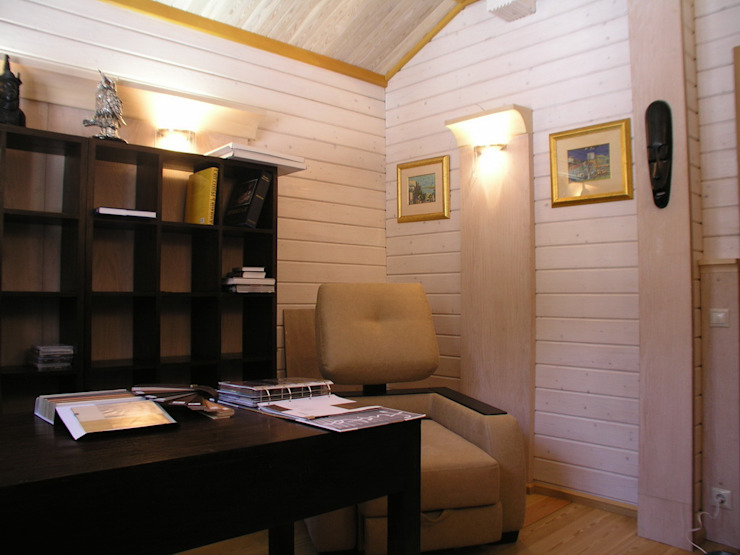 Minimalist study/office by архитектурная мастерская МАРТ Minimalist