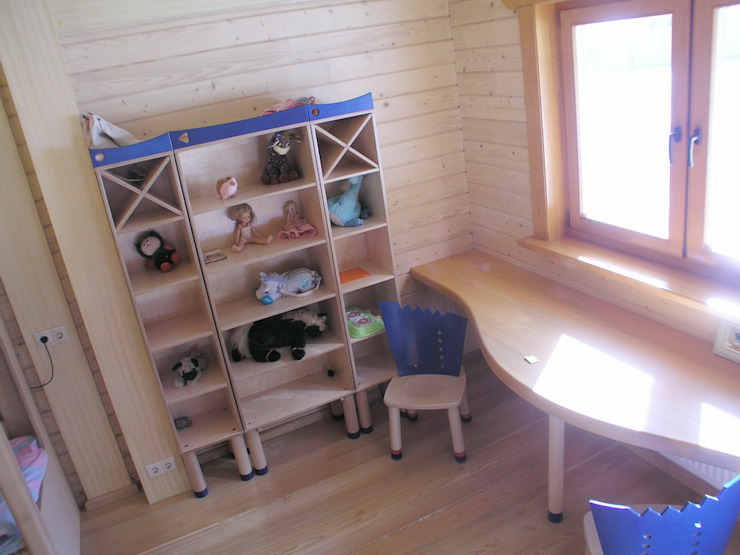 Minimalist nursery/kids room by архитектурная мастерская МАРТ Minimalist