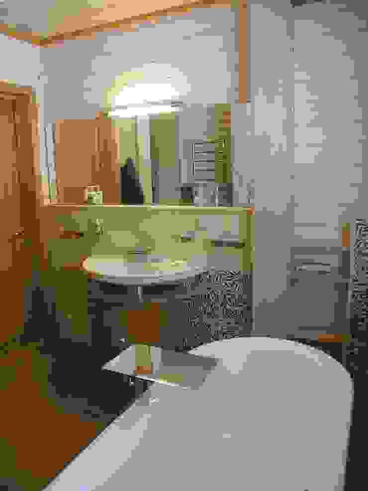 Minimalist bathroom by архитектурная мастерская МАРТ Minimalist