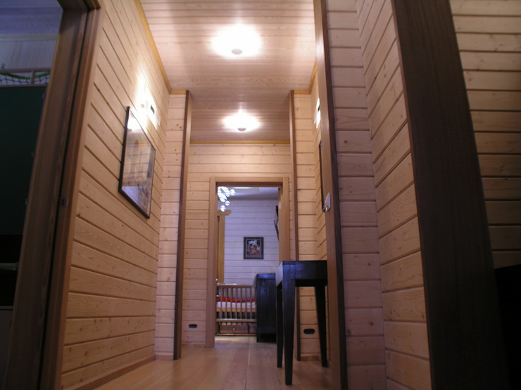 Minimalist corridor, hallway & stairs by архитектурная мастерская МАРТ Minimalist