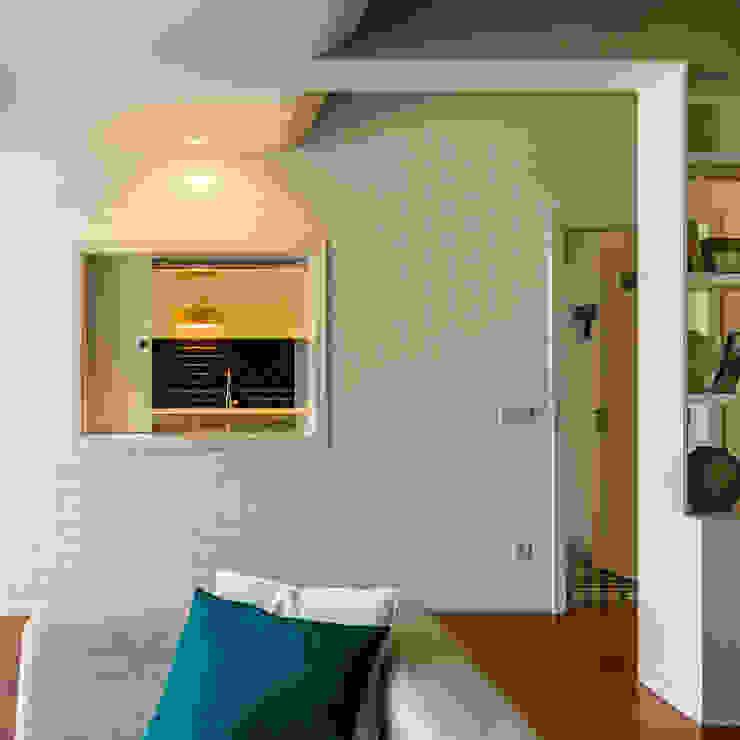 Sala de Estar - Cozinha Salas de estar modernas por Franca Arquitectura Moderno