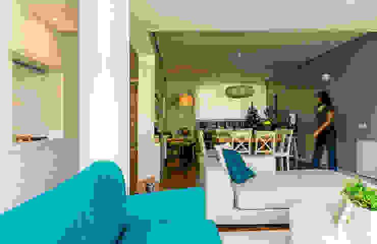 Sala de Estar e Jantar Salas de estar modernas por Franca Arquitectura Moderno