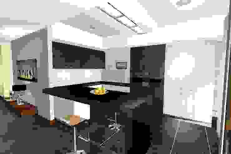 Dapur Modern Oleh архитектурная мастерская МАРТ Modern