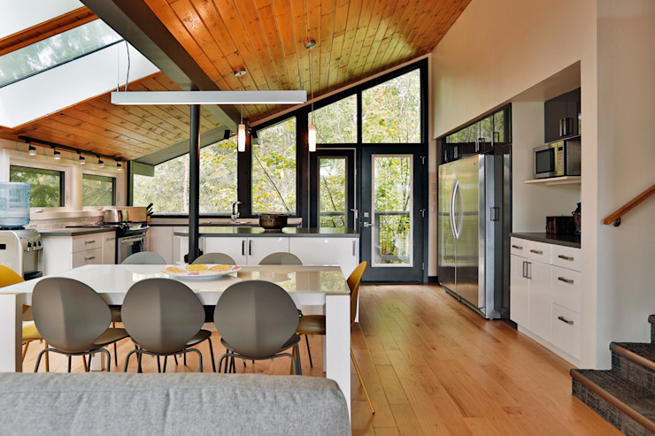 West Hawk Lake Interior Unit 7 Architecture Modern dining room