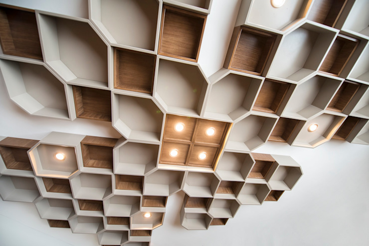 صناعي  تنفيذ ESTUDIO TANGUMA, صناعي خشب Wood effect