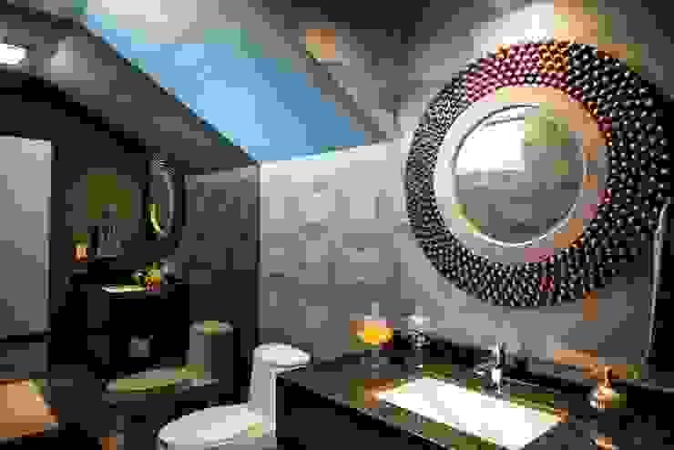 Colina 2122: Baños de estilo  por ESTUDIO TANGUMA,
