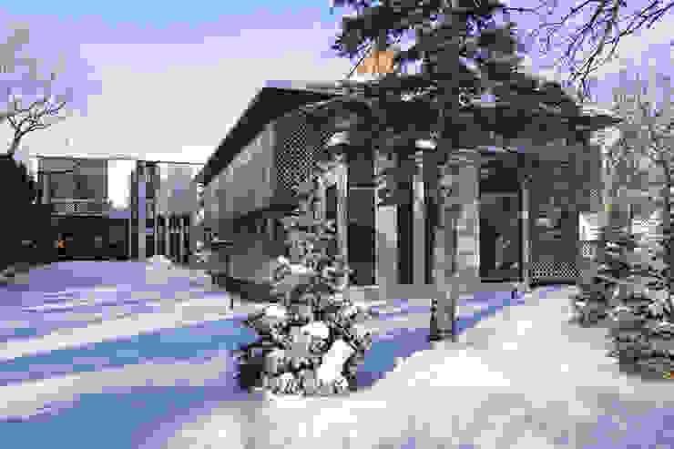 Handsart Residence Exterior 現代房屋設計點子、靈感 & 圖片 根據 Unit 7 Architecture 現代風