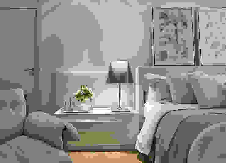 Chambre moderne par Alessandra Contigli Arquitetura e Interiores Moderne