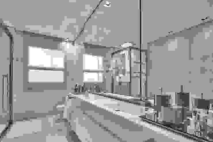حمام تنفيذ Alessandra Contigli Arquitetura e Interiores, حداثي