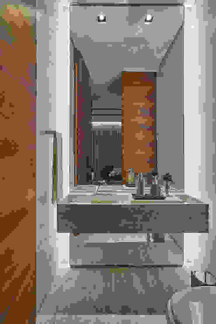 Lavabo Banheiros modernos por Alessandra Contigli Arquitetura e Interiores Moderno