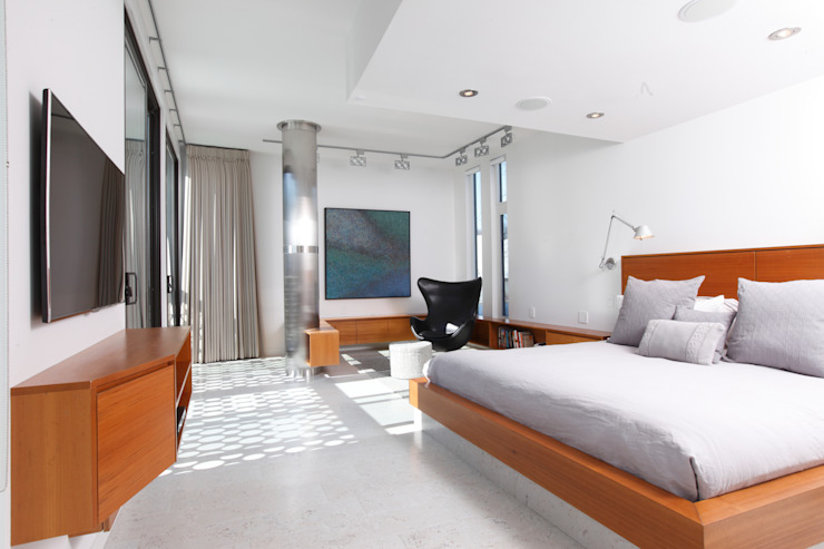 ZT Residence Interiors Modern style bedroom by Unit 7 Architecture Modern