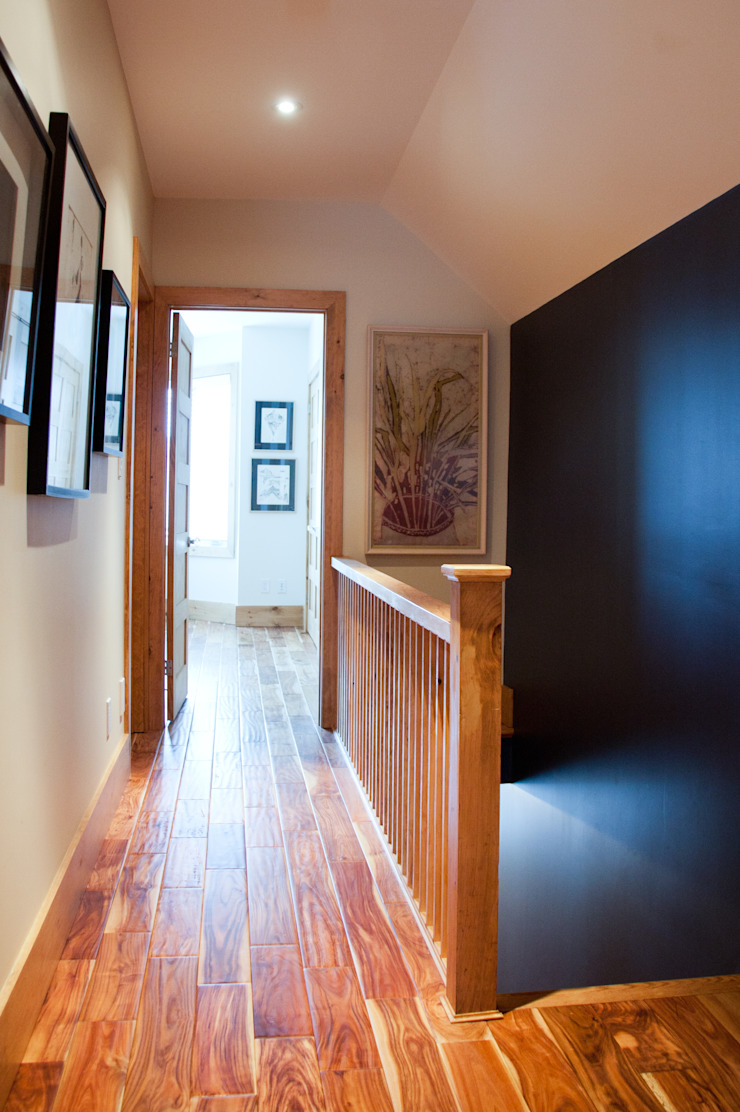 Brock Street Renovation Modern Corridor, Hallway and Staircase by Solares Architecture Modern