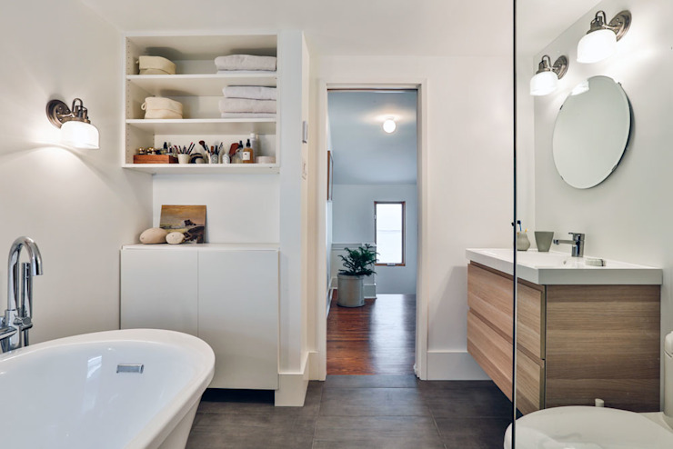 SV Modern Bathroom Modern bathroom by Unit 7 Architecture Modern