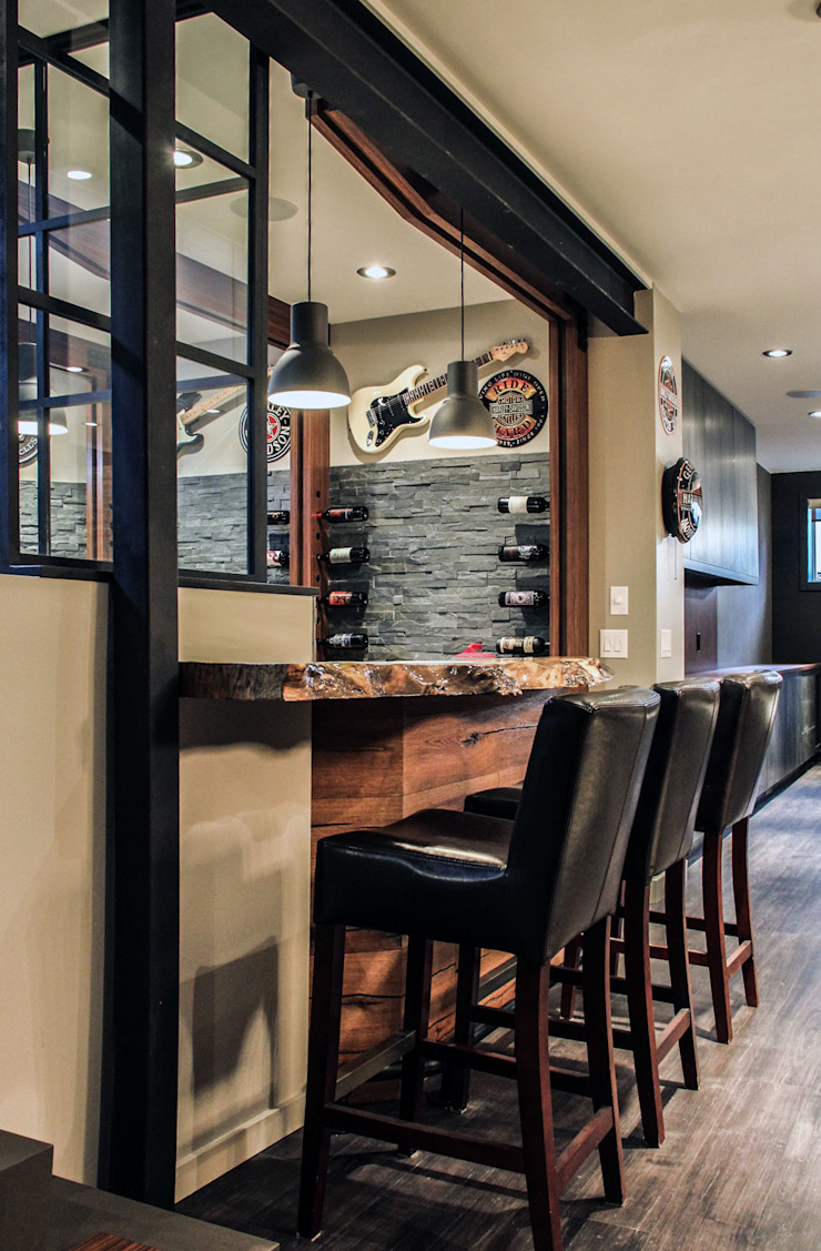 Bell Interiors Industrial style living room by Unit 7 Architecture Industrial