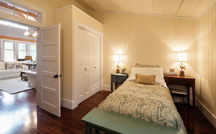 Manning Cottage Country style bedroom by Unit 7 Architecture Country