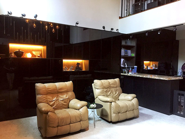new living room by Singapore Carpentry Pte Ltd