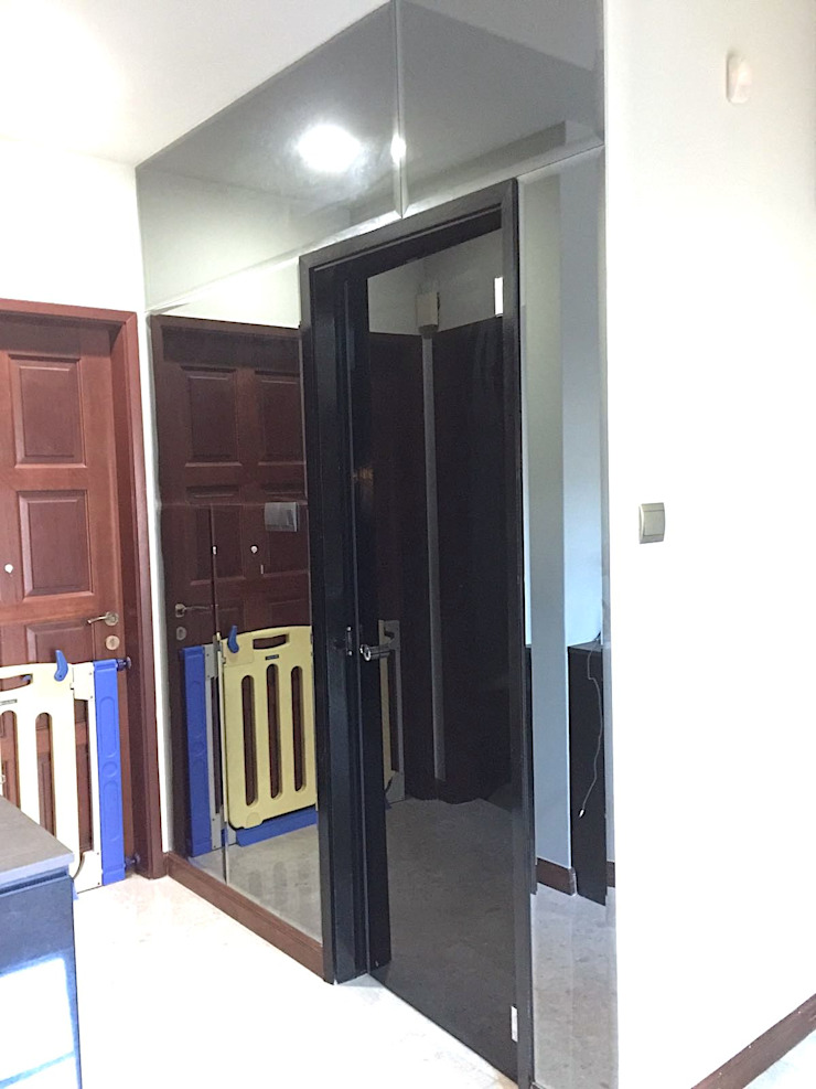 new guest toilet by Singapore Carpentry Pte Ltd