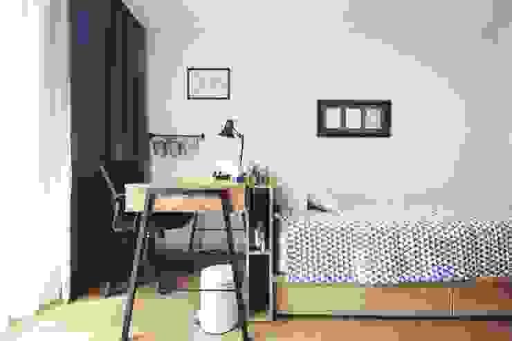 [홈라떼] 성남 신혼집 전셋집 홈스타일링* 스칸디나비아 서재 / 사무실 by homelatte 북유럽