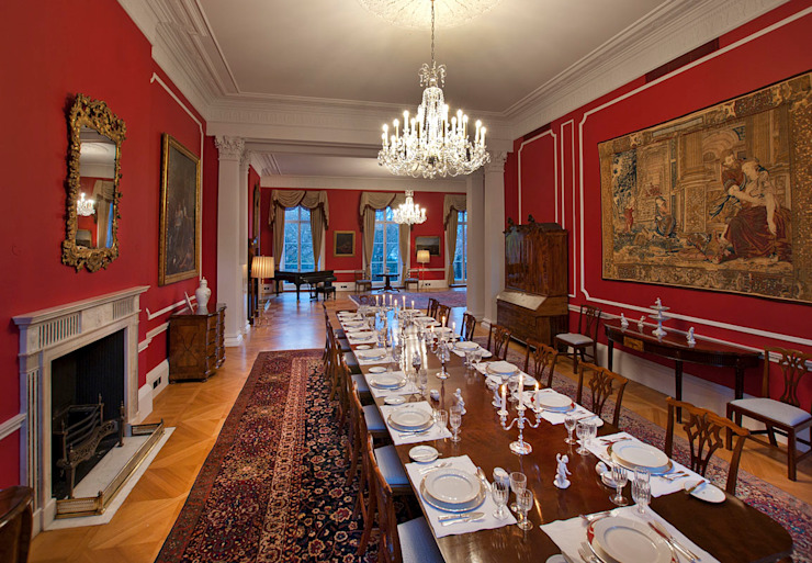 German Embassy Residence (Grade I Listed) Classic event venues by ÜberRaum Architects Classic