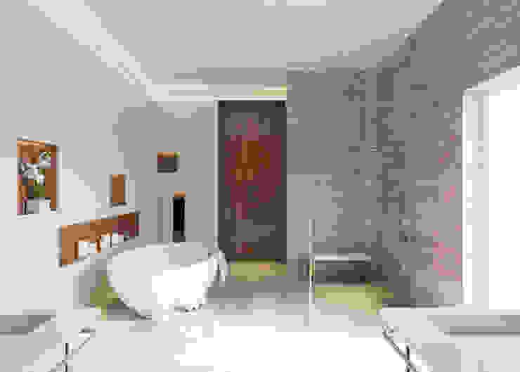 Private Residence, Azerbaijan Modern bathroom by ÜberRaum Architects Modern