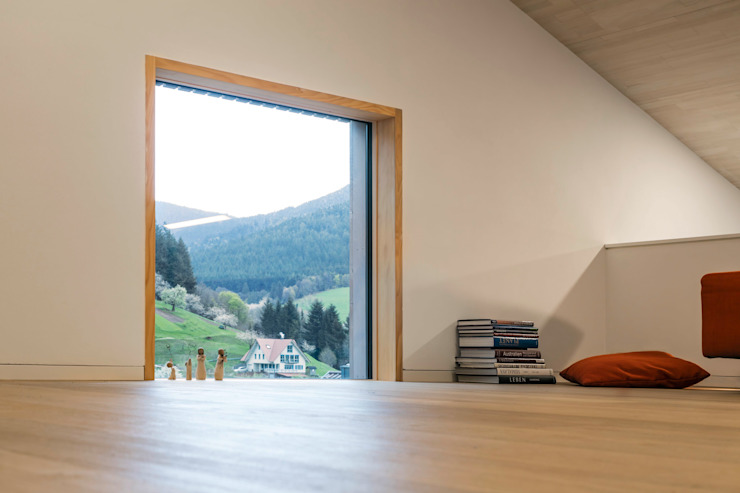 Cloud Cuckoo House ÜberRaum Architects Modern Study Room and Home Office