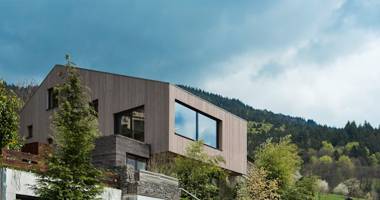 Cloud Cuckoo House Modern Houses by ÜberRaum Architects Modern
