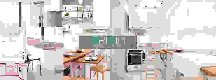 Renovate ห้องครัวคอนโด ประชานิเวศน์1 โดย Origin Decorative