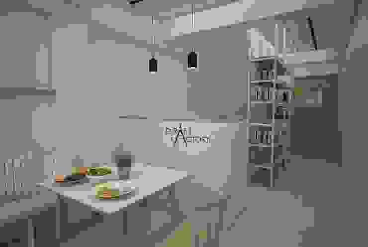 ร้านอาหารขนาด 30 ตร.ม. โดย Draft Factory