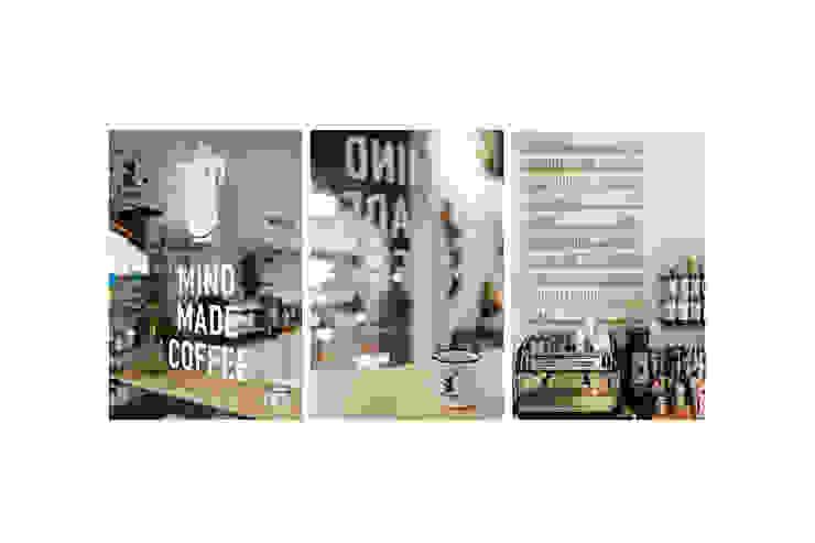 IK-architects Living room Concrete White