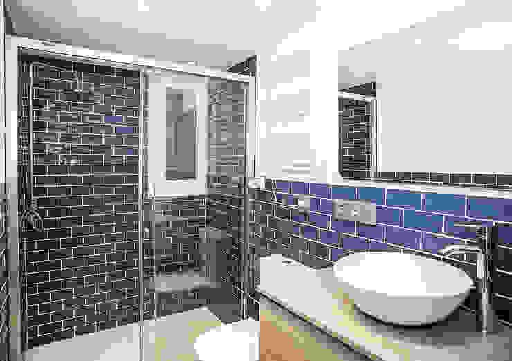 Grupo Inventia Modern Bathroom Tiles Blue