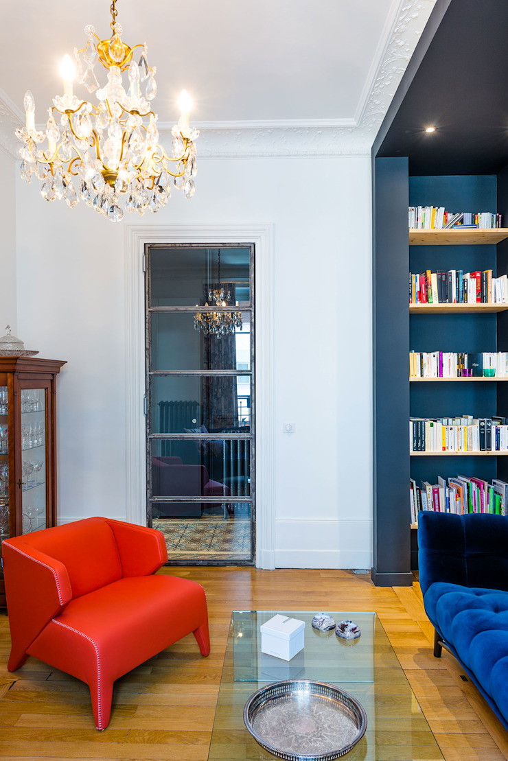 Klassische Wohnzimmer von Dominique Marcon Klassisch