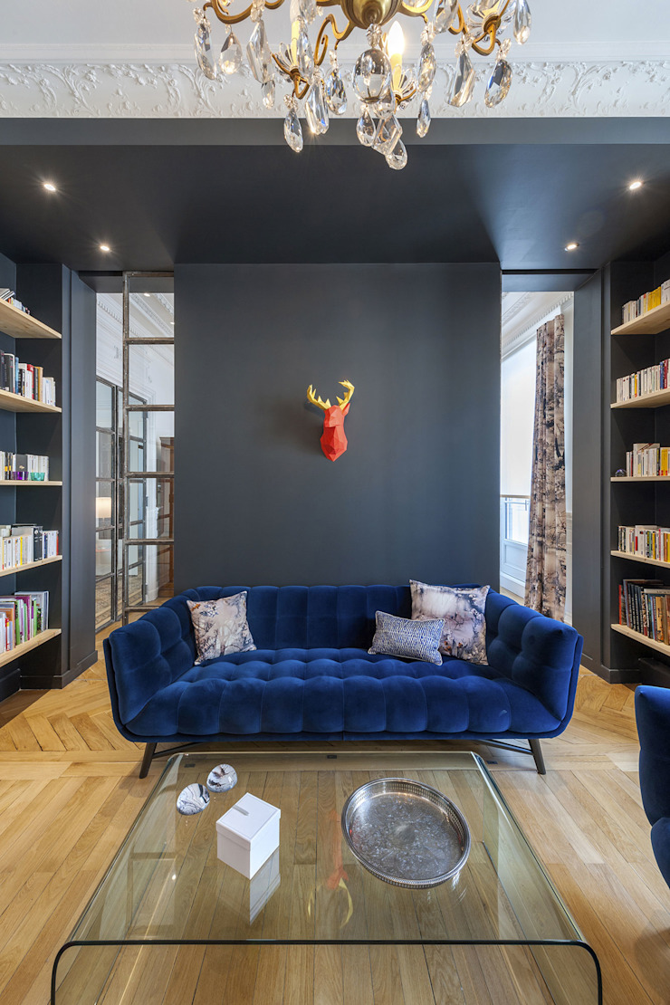 Dominique Marcon Living room