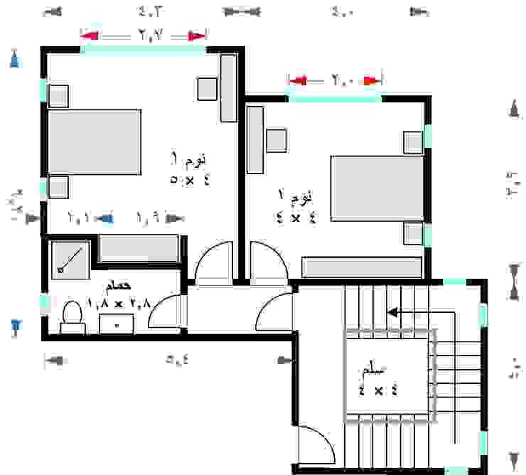 Modern walls & floors by TRK Architecture Modern