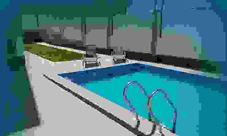 Modern pool by TRK Architecture Modern