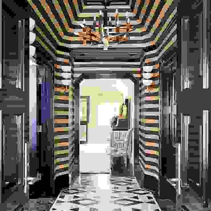 Tasarım Modern Koridor, Hol & Merdivenler erenyan mimarlık proje&tasarım Modern
