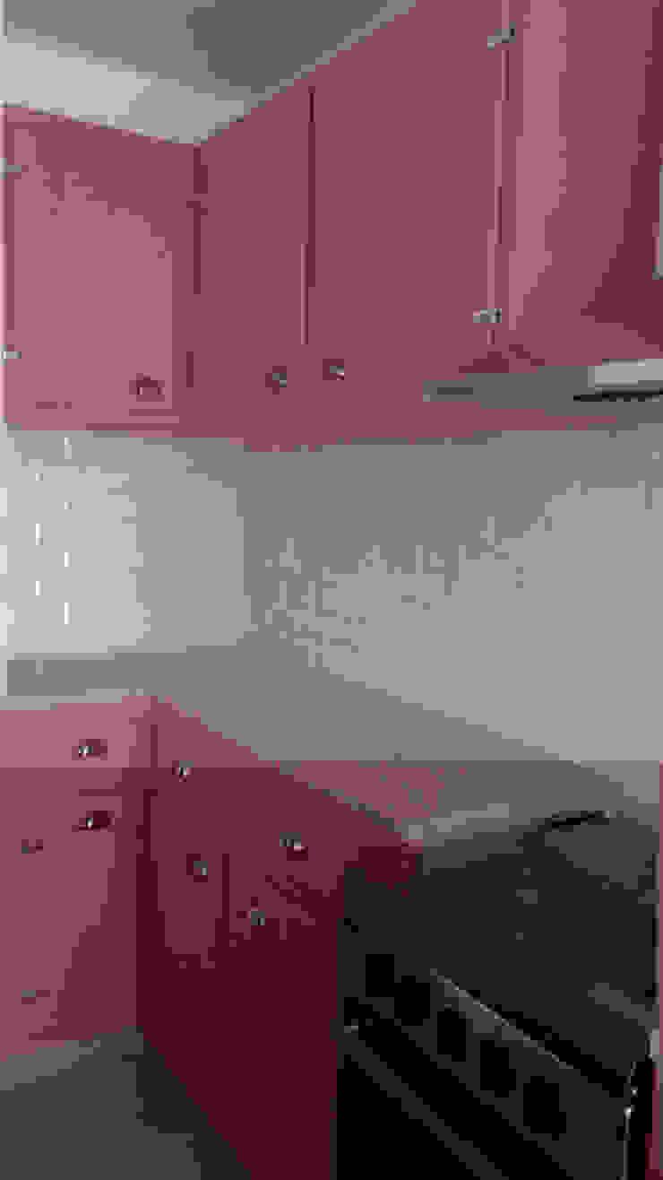 Casa em Benavente Cozinhas rústicas por QFProjectbuilding, Unipessoal Lda Rústico