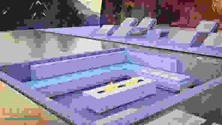 Ambiente Residencial - Exterior por Distone Moderno Pedra