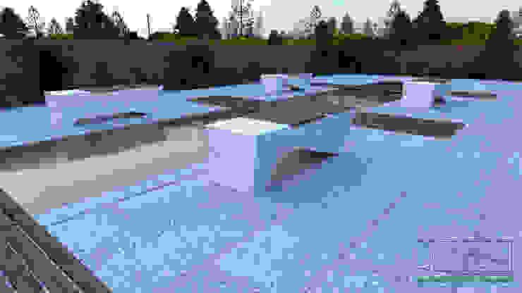 Ambiente Residencial – Exterior por Distone Moderno Pedra