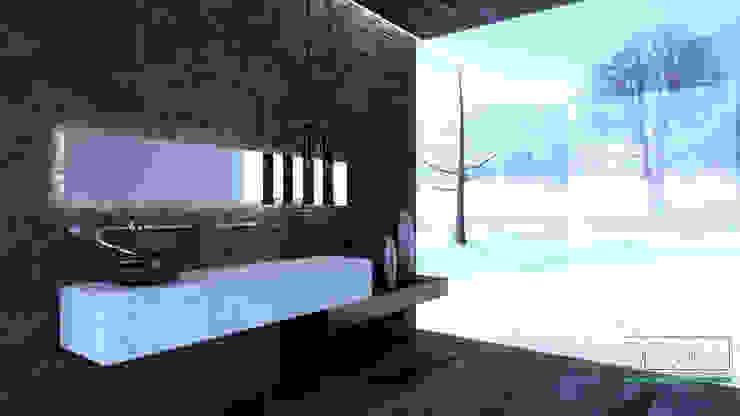 Distone Salle de bainDécorations Pierre