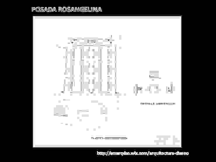 Planos Autocad Posada Rosangelina A.M. ARQUITECTURA +DISEÑO