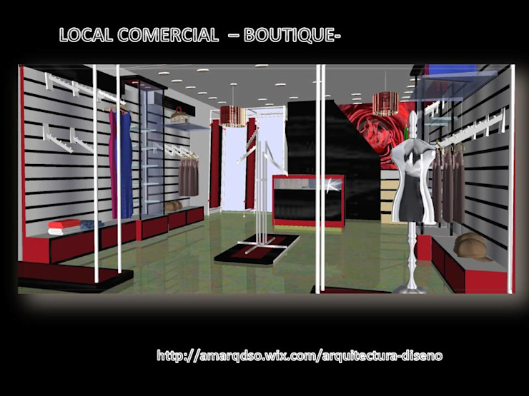 Proyecto Local Comercial -Boutique- A.M. ARQUITECTURA +DISEÑO